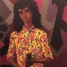 Antonio Berni - La joven del vestido amarillo - oleo s tela - 110 x 76 cm - 1957