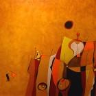 Carlos Ercoli - Barranco Amarillo - oleo - 40 x 50 cm - 2006