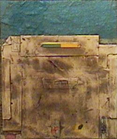 Ernesto Berra - Muro con cielo esmeralda 11