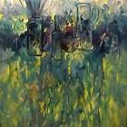 Hora de primavera - Oleo - 60 x 50 cm - 1991