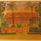 Horacio Butler - Del Tigre - acuarela sobre papel - 26 x 40 cm - 1937