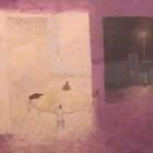 Jugadores de naipes - mixta -  41 x 61 cm - 1994