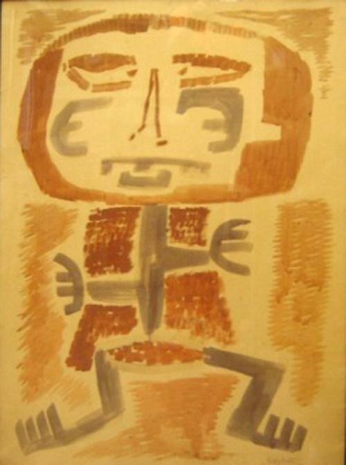 Leonidas Gambartes - Mitoforma - acuarela - 87 x 60 cm - 1962