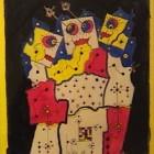 Libero Badii - 1+1=3 - Mixta - 27 x 24 cm - 1988