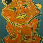 Libero Badii - Figura - Tempera - 39 x 28 cm - 1973