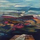 Mesa para el encuentro - Oleo - 30 x 24 cm - 1989