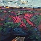 Mesa y distancia - Oleo - 30 x 24 cm - 1990