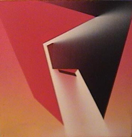 Salvador Costanzo - Nova L - acrilico - 25 x 25cm - 1995