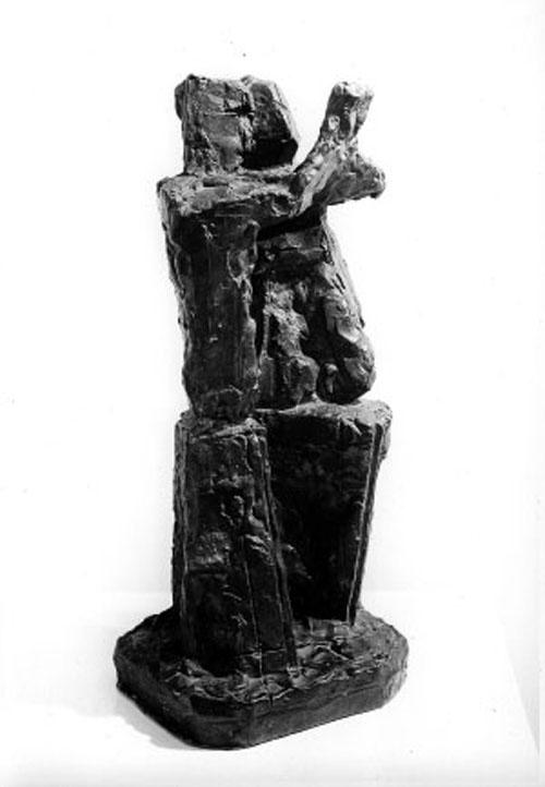 Tango - Escultura en Bronce 37 x 16 x 13 cm - 1963--