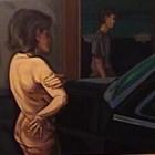 Una noche en la ciudad - oleo - 50 x 100 - 2003