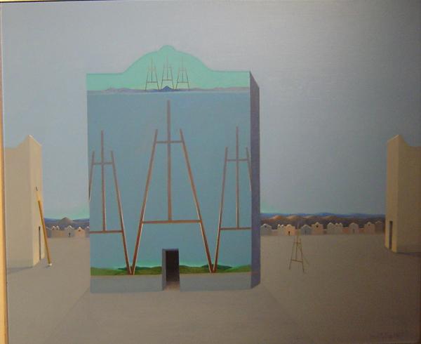 Antonio Monteiro - Luces - Acrilico - 50 x 60 cm - 1997