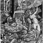 Apoteosis de Eva en el Jardín de las Delicias- Tinta - 60 x 40 cm -2006