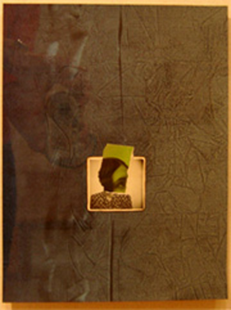 Graciela Zar  - La Mirada - Monotipo - 23.5 x 17 cm - 2005