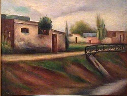 Horacio March - Arroyo Maldonado - 42 x 53 cm - 1934