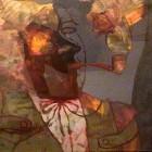 Jorge Ludueña - El Ilusionista - oleo - 60 x 70 cm - 1976