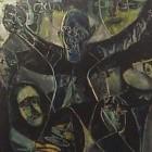 Leopoldo Presas - Espantapajaros - oleo - 90 x 80 cm - 1968