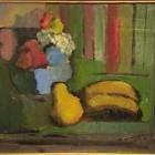 Marcos Tiglio - Las frutas - (2208) oleo - 35 x 45 cm - 1954