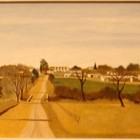 Norberto Russo - En Amboy - Cordoba - oleo - 30 x 40 cm - 1985