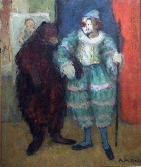 Payaso con oso