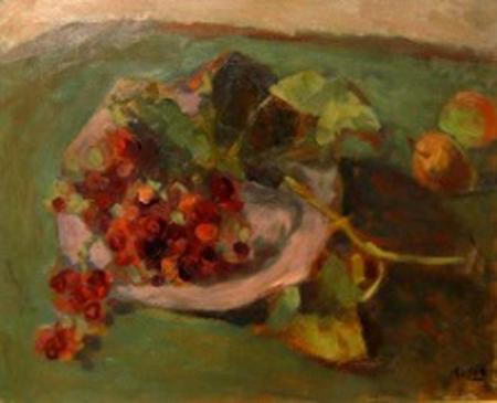 Raul Russo - Naturaleza muerta - oleo  - 40 x 50 cm - 1952 -