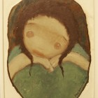Raul Shurjin - Costerita - oleo - 18 x 24 cm - 1970